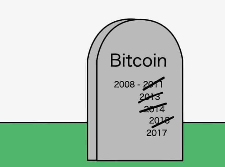 Bitcoin died